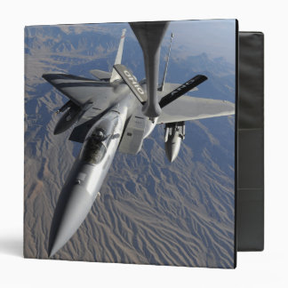 A US Air Force F-15 Eagle 3 Ring Binder