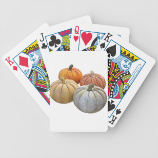 A Variety of Pumpkins Bicycle Playing Cards