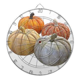 A Variety of Pumpkins Dart Board