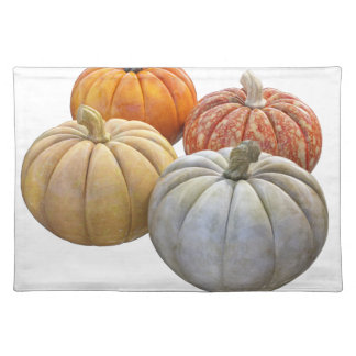 A Variety of Pumpkins Placemats