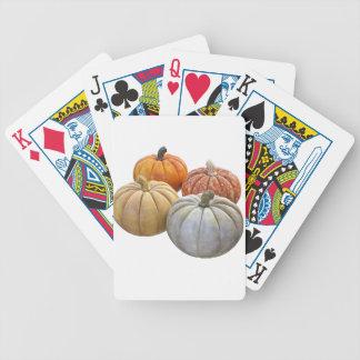 A Variety of Pumpkins Poker Deck