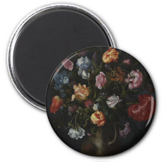 A Vase with Flowers Magnet