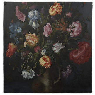 A Vase with Flowers Napkin