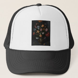 A Vase with Flowers Trucker Hat