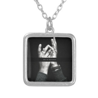 A VCVH Records Inc. Single By Michael Millis Silver Plated Necklace