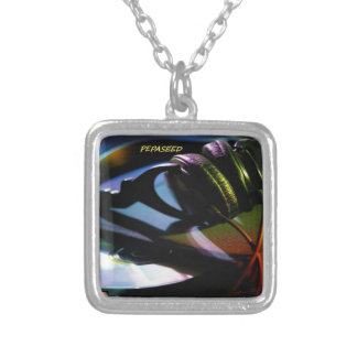 A VCVHRecords Inc Album By Michael Millis ''TAV2'' Silver Plated Necklace