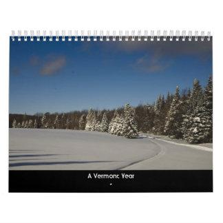 A Vermont Year Calendars