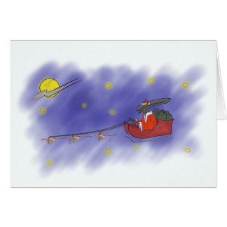 A very Alien Christmas Card