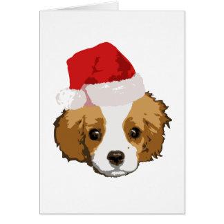 A Very Cavalier Christmas Card