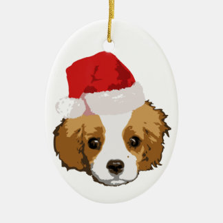 A Very Cavalier Christmas Oranament Ceramic Ornament