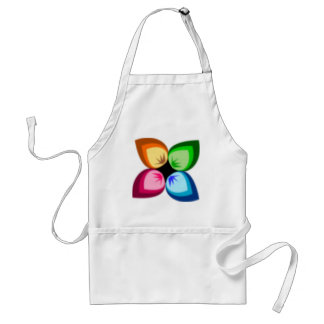 A very colorful Flower Standard Apron