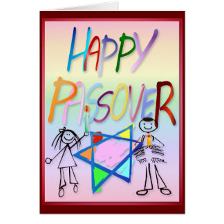 A Very Colorful Passover Card