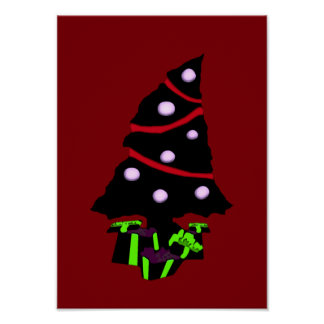A Very Gothy Christmas Posters