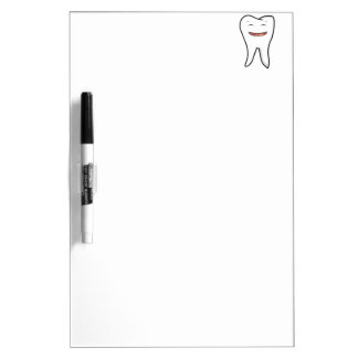 A Very Happy Tooth Dry Erase Board
