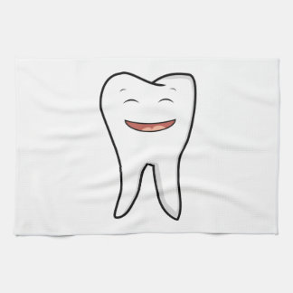 A Very Happy Tooth Kitchen Towel