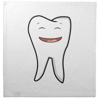 A Very Happy Tooth Napkin