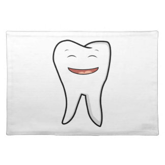 A Very Happy Tooth Placemat