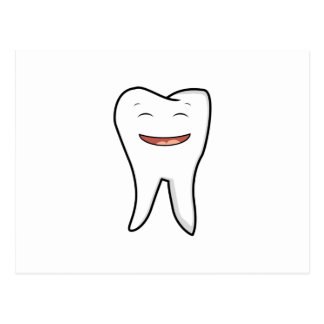 A Very Happy Tooth Postcard