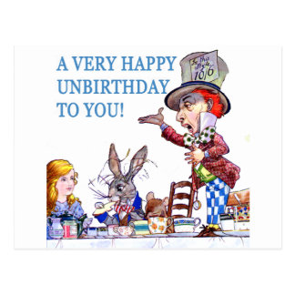 A Very Happy Unbirthday To You! Postcard
