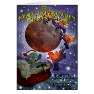A Very Lovecraft Christmas Card