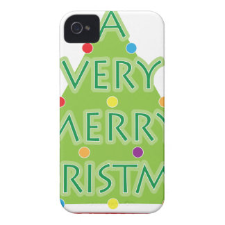 a very merry christmas Case-Mate iPhone 4 case