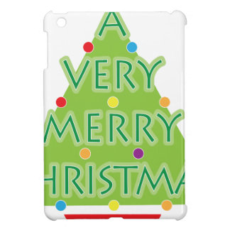 a very merry christmas iPad mini cases