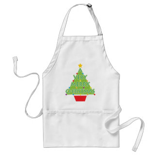 a very merry christmas standard apron