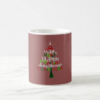 A Very Merry Christmas Tree Coffee Mug