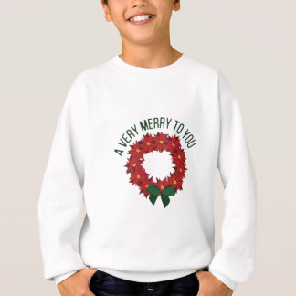 A Very Merry Sweatshirt
