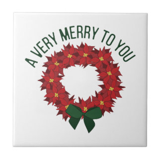 A Very Merry Tile