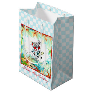A Very Merry Unbirthday Medium Gift Bag
