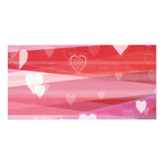 A Very Pink Valentine Photo Card Template