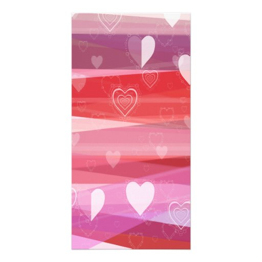 A Very Pink Valentine Personalized Photo Card