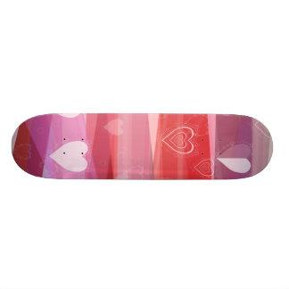 A Very Pink Valentine Skate Board