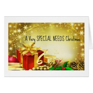 A Very Special Needs Christmas Card