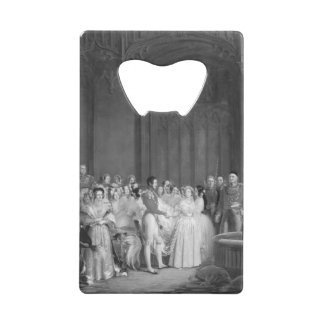 A Very Victorian Wedding double-sided Wallet Bottle Opener