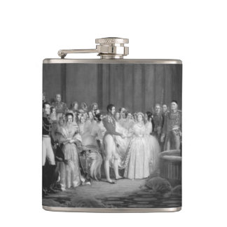 A Very Victorian Wedding Flasks