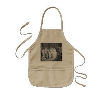 A Very Victorian Wedding Kids Apron