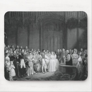 A Very Victorian Wedding Mouse Pad