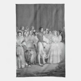 A Very Victorian Wedding Towel