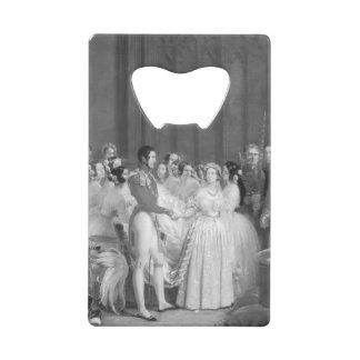 A Very Victorian Wedding Wallet Bottle Opener