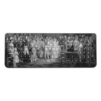 A Very Victorian Wedding Wireless Keyboard