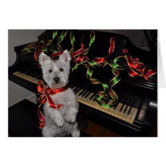 A Very Westie Christmas Card