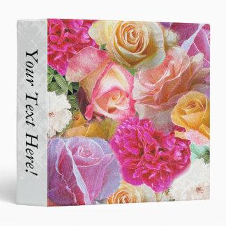 A Vibrant Field of Roses Vinyl Binders