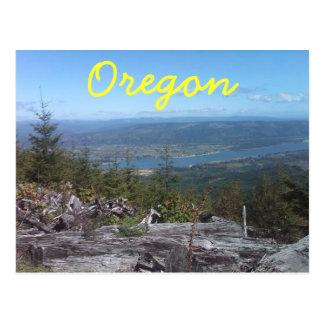 A view down the ol' Columbia Postcard