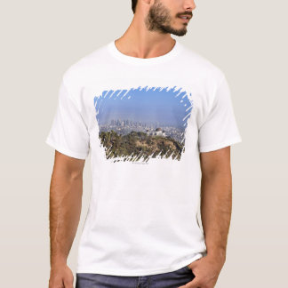 A view from a hiking trail in Griffith Park T-Shirt
