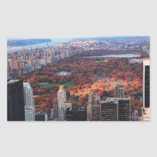 A view from above: Autumn in Central Park 01