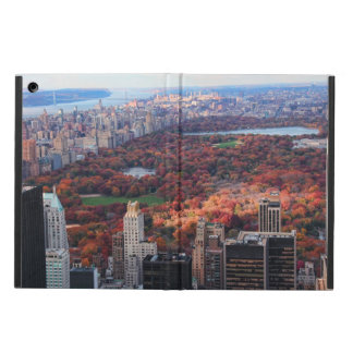 A view from above: Autumn in Central Park 01 iPad Air Case