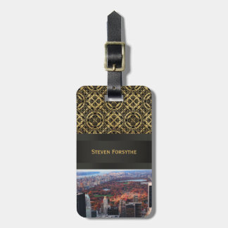 A view from above: Autumn in Central Park 01 Luggage Tag
