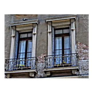 A view from Lido, Venezia Postcard